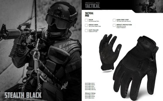 Guantes Ironclad EXO TACTICAL PRO 2