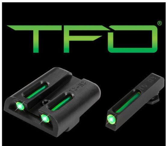Mira Truglo TFO TRITIUM - FIBER OPTIC para Glock 1