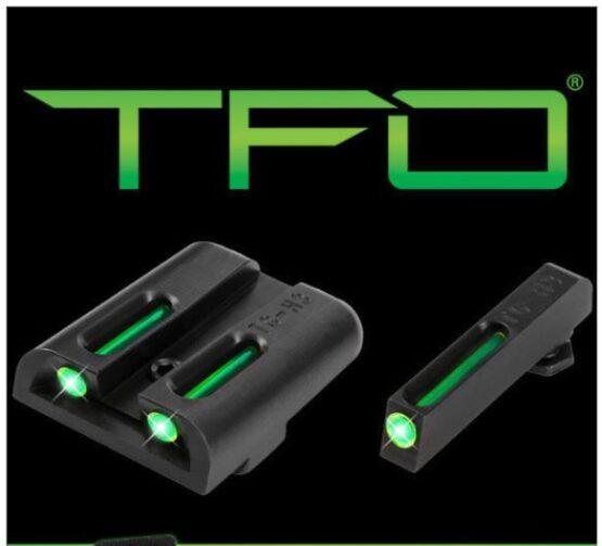Mira Truglo TFO TRITIUM - FIBER OPTIC para Glock 4