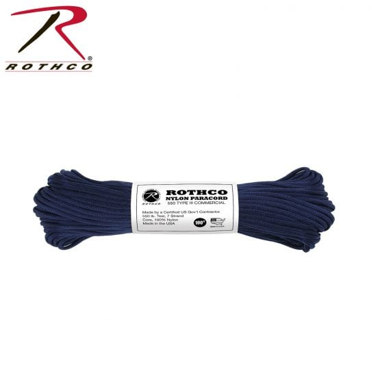 Cuerdas Paracord 550lb Tipo 3 Rothco 5