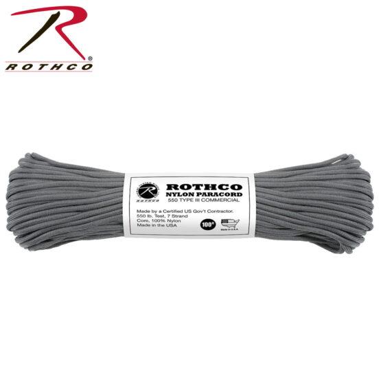 Cuerdas Paracord 550lb Tipo 3 Rothco 8