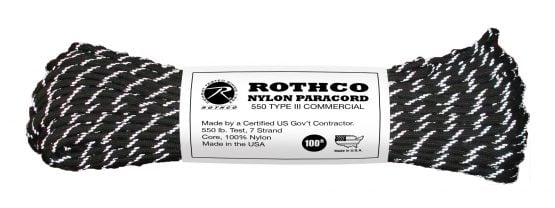 Cuerdas Paracord 550lb Tipo 3 Rothco 24