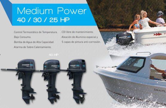 Motor Fuera de Borda PowerTec 30HP 2T 2