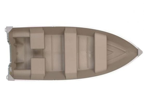 Bote De Aluminio Americanos Polar Kraft Dakota 5 personas 2