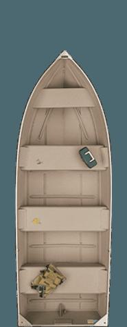 Bote De Aluminio Americanos Polar Kraft Dakota 4 personas 2