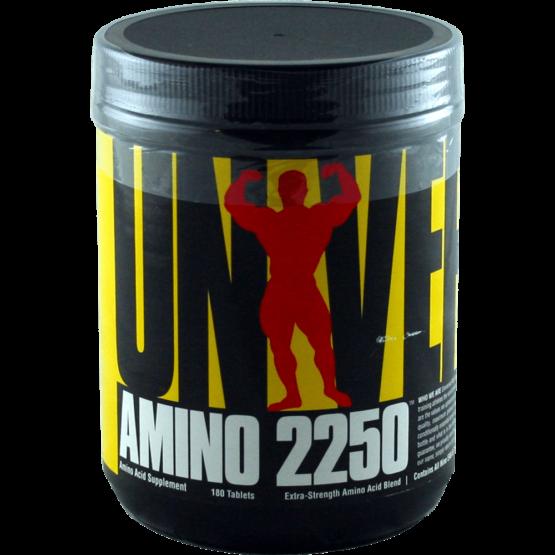 Aminoacidos Universal Amino 2250 180 tabletas 1
