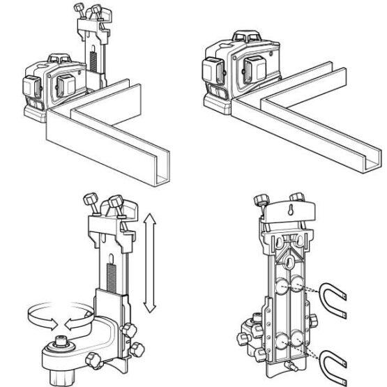 Nivel Láser Automático Spectra LT56 Laser Universal herramienta de diseño 9