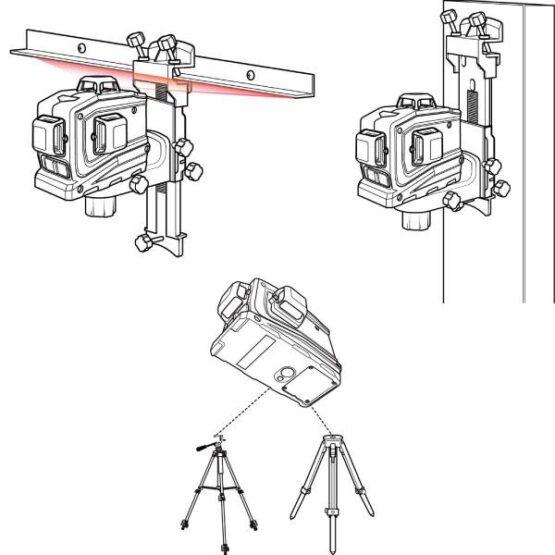 Nivel Láser Automático Spectra LT56 Laser Universal herramienta de diseño 8