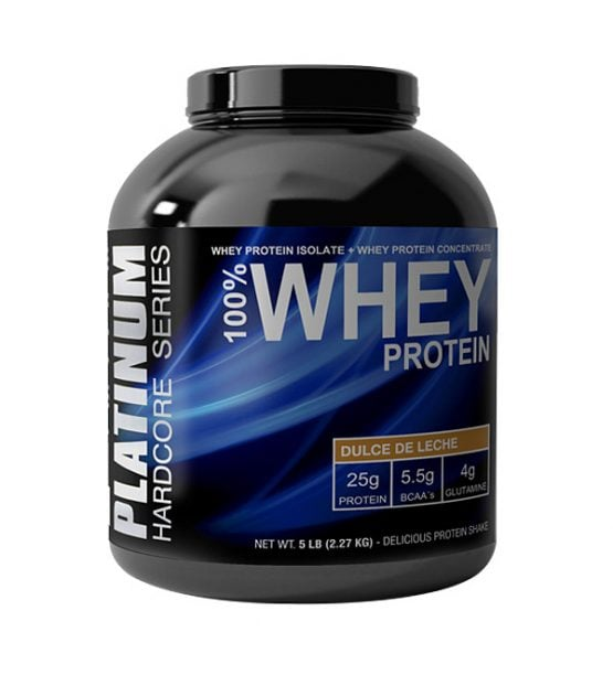 Proteina Platinum 100% Whey Protein 5lb 1