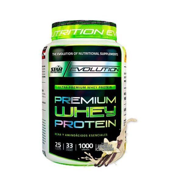 Proteina Star Nutrition Premiun Whey Protein 1kg 1