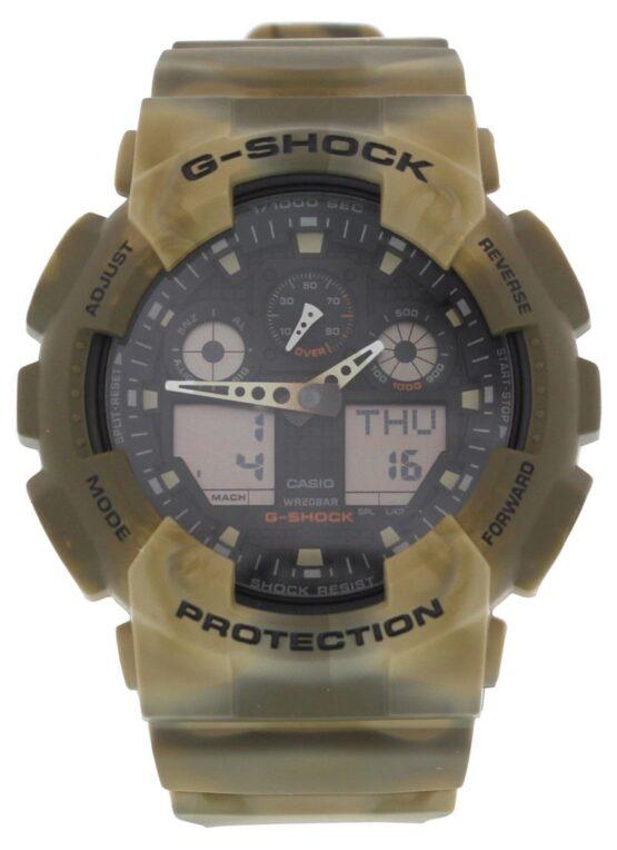 Reloj Casio G-Shock Camouflage Series GA-100MM-5A 3