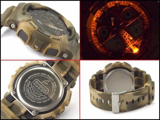 Reloj Casio G-Shock Camouflage Series GA-100MM-5A 6