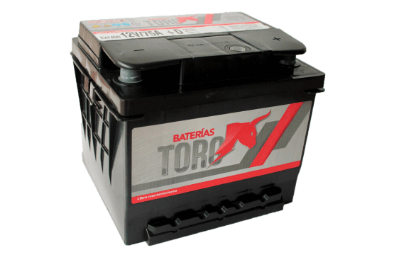 Bateria de arranque Toro 75 Amperes 12V Auto Camioneta 1