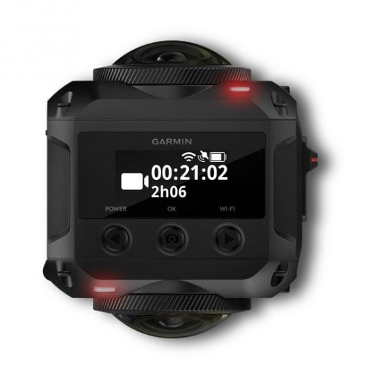Cámara de 360 grados compacta Garmin VIRB® 360 4K 4