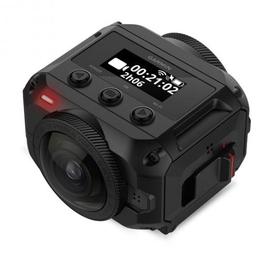 Cámara de 360 grados compacta Garmin VIRB® 360 4K 2