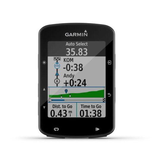 CICLOCOMPUTADOR GPS GARMIN DEPORTE CICLISMO Edge® 520 Bundle Sensores, HRM y Soporte 8