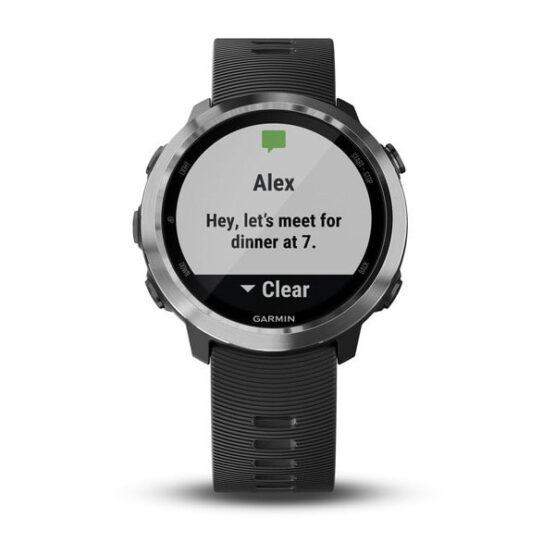 Forerunner 645 Music - Reloj de carrera con GPS, música y compatibilidad con Garmin Pay 8