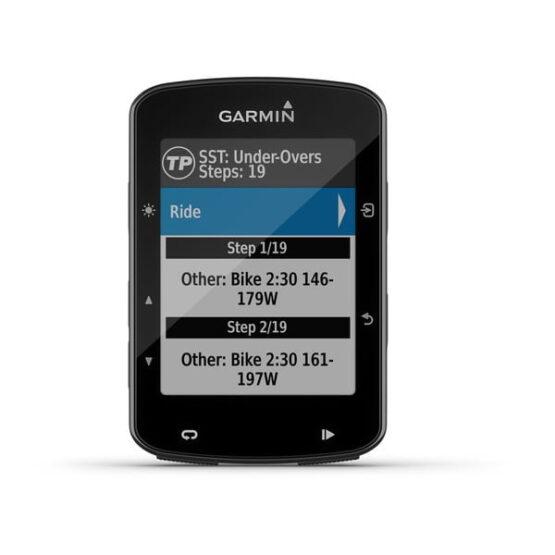 CICLOCOMPUTADOR GPS GARMIN DEPORTE CICLISMO Edge® 520 Bundle Sensores, HRM y Soporte 3