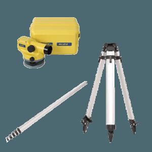 Kit Nivel Optico AL24-3 Spectra con estuche mira y tripode 1