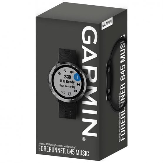 Forerunner 645 Music - Reloj de carrera con GPS, música y compatibilidad con Garmin Pay 13