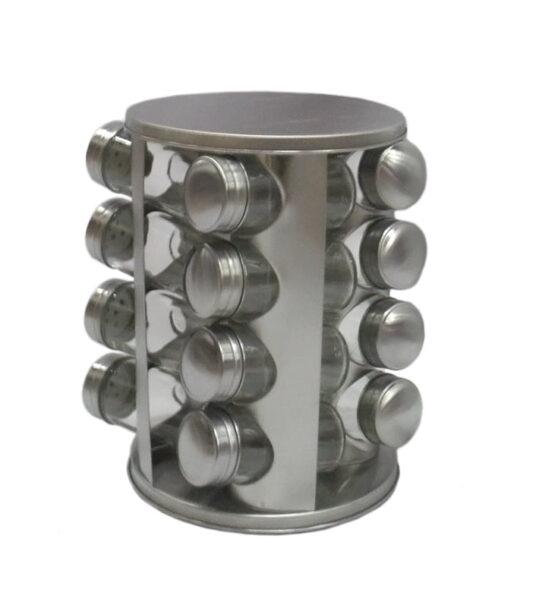 Especiero giratorio en acero inoxidable. 1