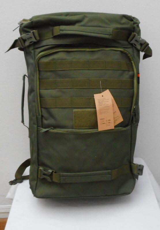Mochila/ bolso 2 en 1. 50 Litros. En lona militar muy resistente. 8
