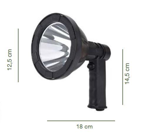 Foco de mano o Reflector con LED T 6 de 10 W 2