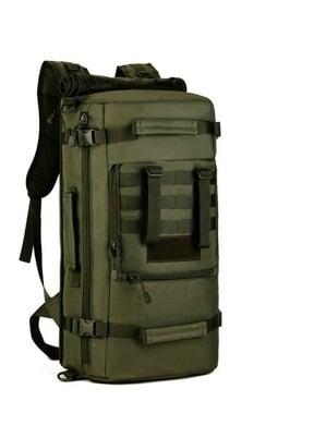 Mochila/ bolso 2 en 1. 50 Litros. En lona militar muy resistente. 1