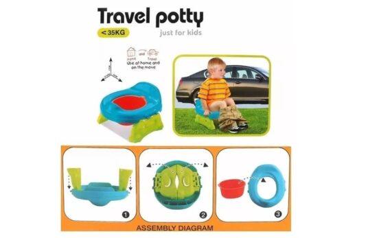 PELELA DE PLASTICO DE COLORES - Travel Potty 5