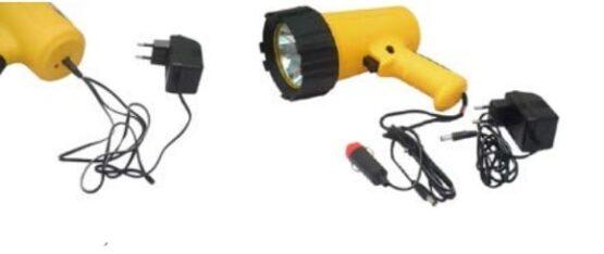 Foco de mano recargable, LED DE 10 W, 130 LUMENES. 2