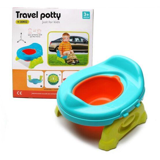 PELELA DE PLASTICO DE COLORES - Travel Potty 4