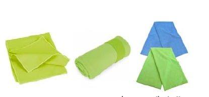 Set de Toallas inteligentes microfibra ideal para playa, club, piscina, camping, auto. 1