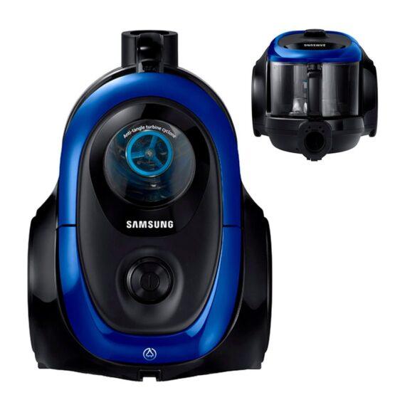 Aspiradora Con Turbina Anti-Enredo 2100 Watts Azul Samsung 1