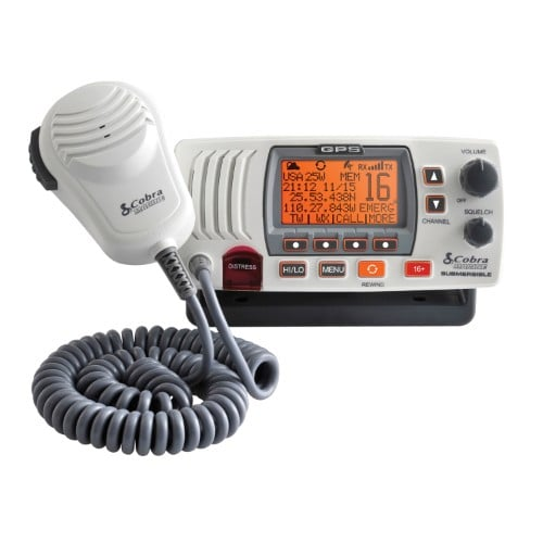COBRA ELECTRONICS MARINE Radio Base VHF Marino 25W 1