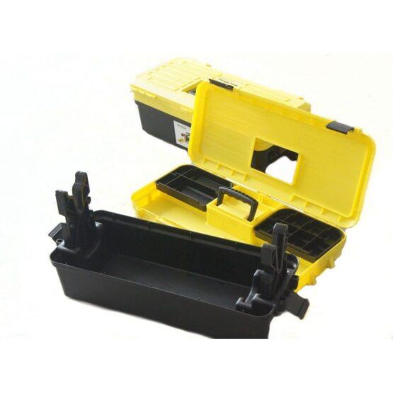 Caja con banco para limpieza de armas 2
