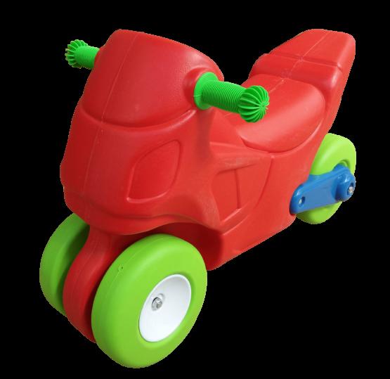 Moto Infantil Multicolor en material de Plastico 1