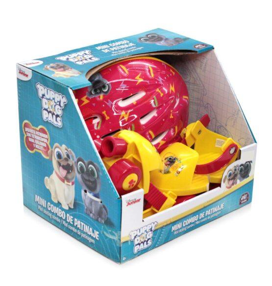 Combo patines y protecciones PUPPY DOG PALS 1