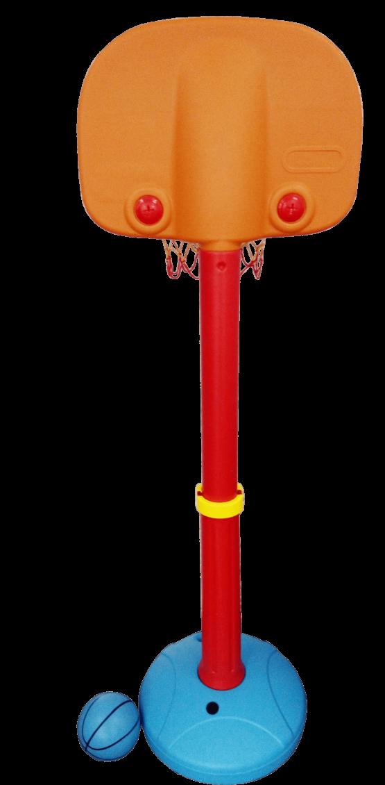 Tablero de Basquet con pie para Interiores y Exteriores - Ajustable a 5 alturas Diferentes. 2