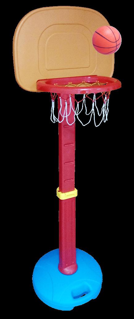 Tablero de Basquet con pie para Interiores y Exteriores - Ajustable a 5 alturas Diferentes. 1