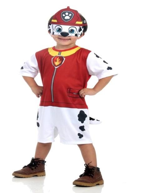 Disfraz Infantil corto de Marshall Patrulla Canina™ 1