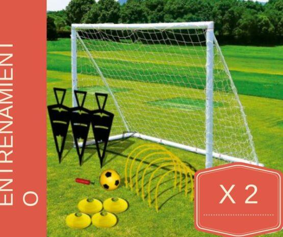 Doble set de Entrenamiento de Futbol completo 1