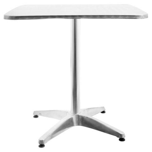 Mesa de exterior en aluminio color plateada Just Home Collection 2