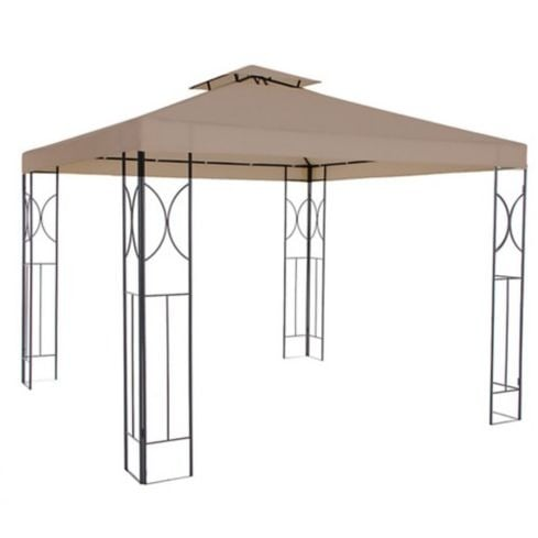 PERGOLA METALICA TABACO 3X3 - JUST HOME COLLECTION 1