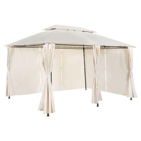 Pergola Romana con cortina 3 x 4 m Just Home Collection 3