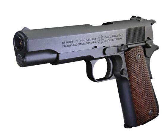 PISTOLA 1911 DE AIRSOFT 6mm GAS GPM1911 G&G ARMAMENT 2