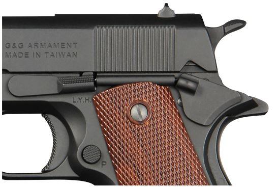 PISTOLA 1911 DE AIRSOFT 6mm GAS GPM1911 G&G ARMAMENT 4