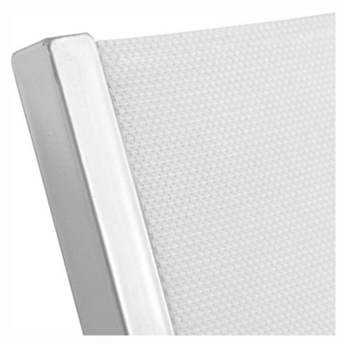 Reposera Porto Cervo gris y blanco Just Home Collection 6