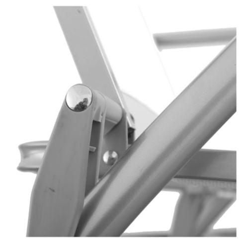 Reposera Porto Cervo gris y blanco Just Home Collection 7