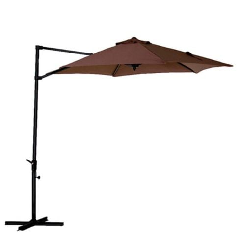 Sombrilla lateral aluminio 2.7 m Chocolate Just Home Collection 1