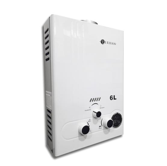 Calentador de agua Instantáneo a supergas 6 litros por minuto 1